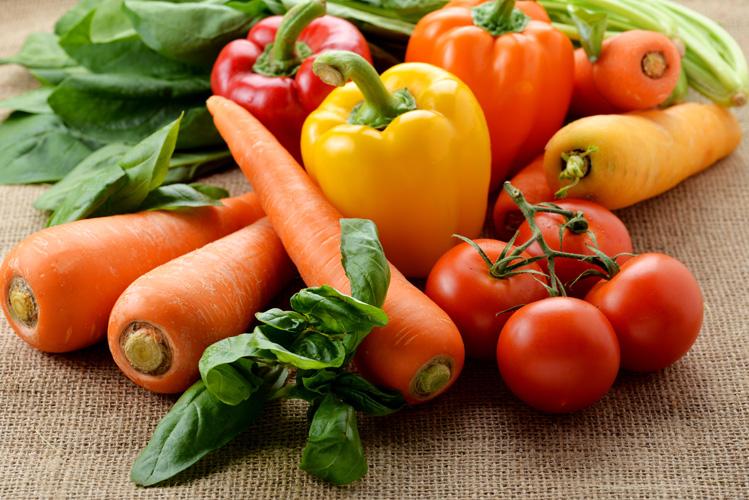 1.16種類の野菜がとれる!
