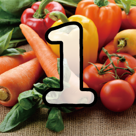 16種類の野菜